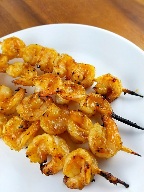 Teriyaki Grilled Shrimp Recipe