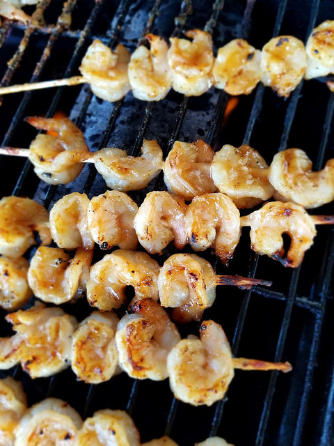 Teriyaki Grilled Shrimp
