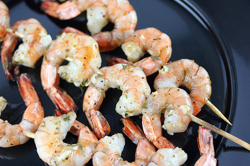 Garlic Butter Grilled Shrimp Recipe