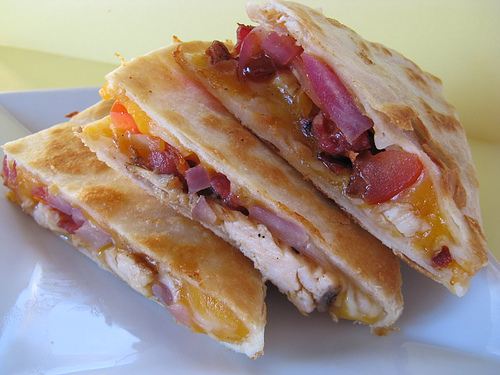Chicken Quesadilla Recipe Blogchef Net