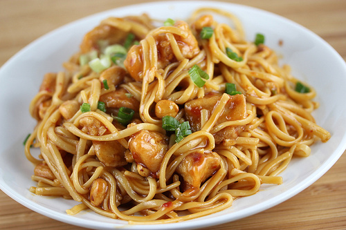 Kung Pao Noodles California Pizza Kitchen
