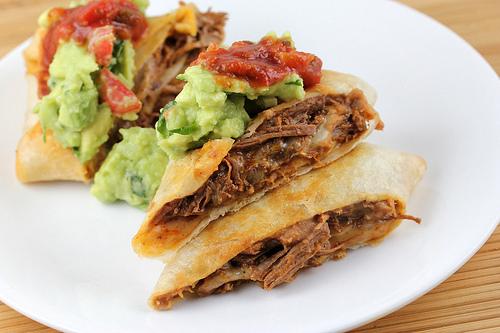 Beef Chimichangas Recipe