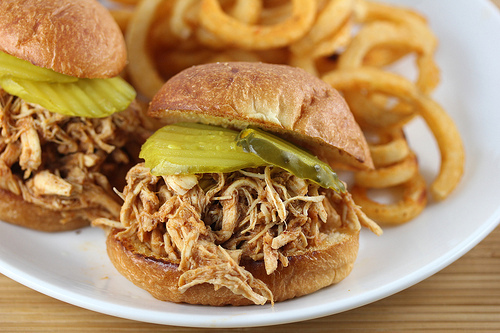 Slow Cooker Pulled Chicken Recipe Blogchef Net