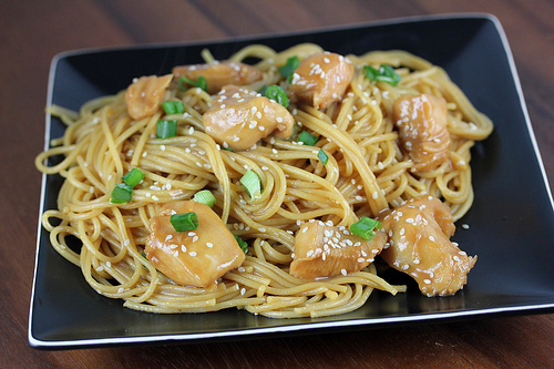 Chinese Chicken With Noodles Recipe - Blogchef-7123