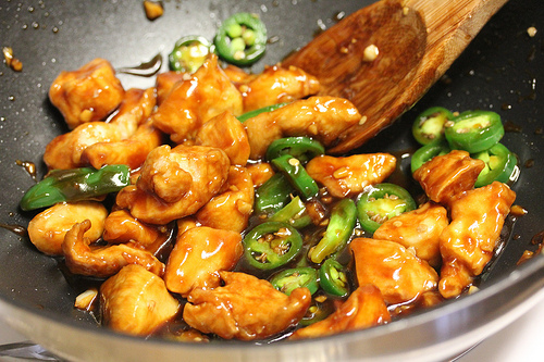 Chinese Jalapeno Chicken Recipe - Blogchef-9232