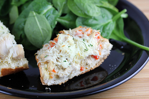 chicken french bread pizza