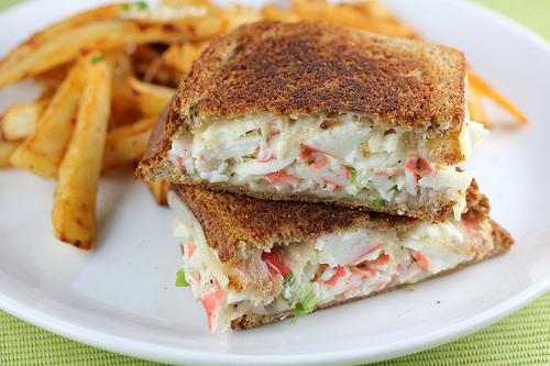 Crab Grilled Cheese Recipe Blogchef