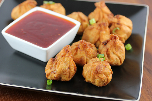 pork fried wontons