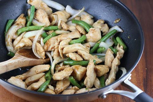 Chinese String Bean Chicken