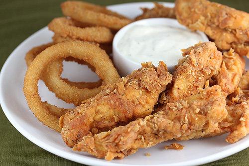 Spicy Chicken Strips Recipe Blogchef