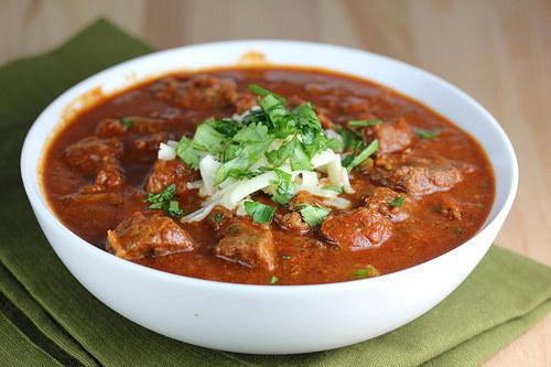 Slow Cooker Steak Chili Recipe Blogchef