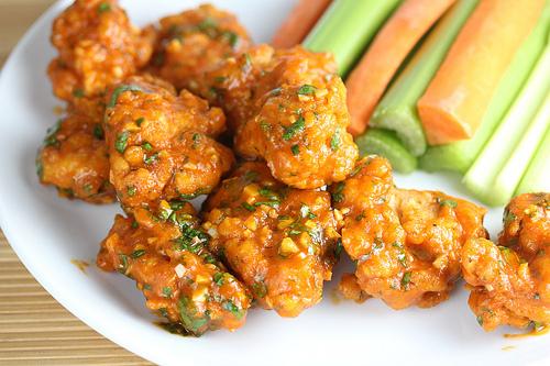 Sriracha Boneless Wings Recipe Blogchef