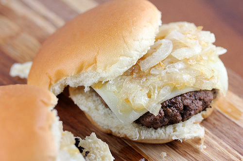 Mcdonald S Grilled Onion Cheddar Recipe Blogchef Net