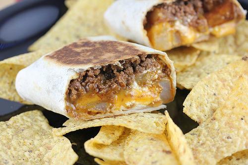 Taco Bell Cheesy Potato Burrito