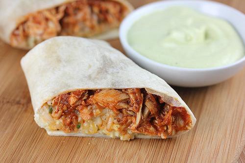 Taco Bell Chicken Burrito