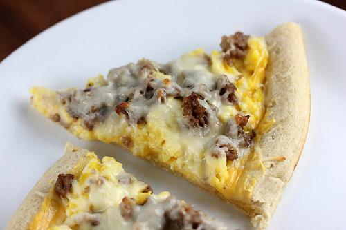 Casey's Breakfast Pizza
