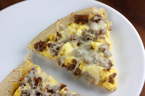 Casey's Breakfast Pizza