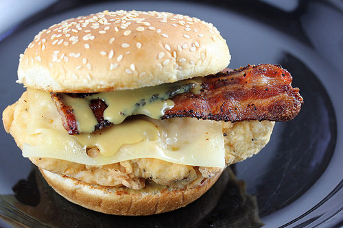 Arby's Chicken Bacon Swiss Sandwich