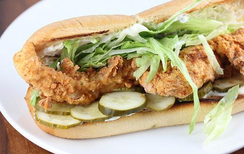 Review: Popeyes - Chicken Po Boy | Brand Eating