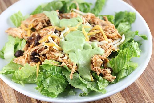 Chicken and Black Bean Taco Salad