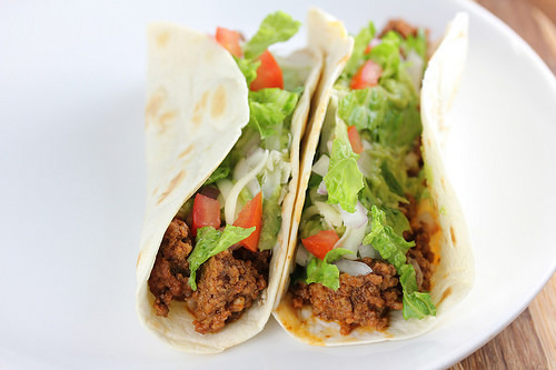 Slow Cooker Ground Beef Tacos