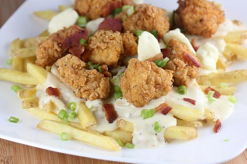 Fried Chicken Poutine