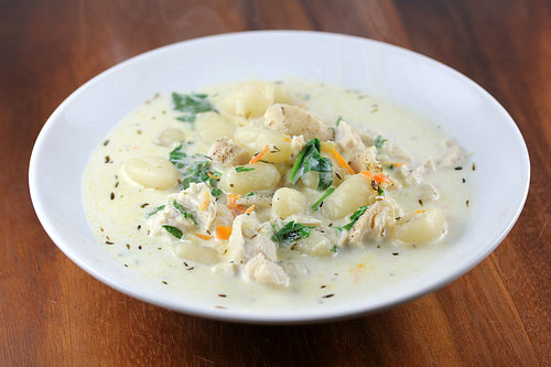 olive garden chicken and gnocchi soup recipe - Olive Garden Gnocchi Soup