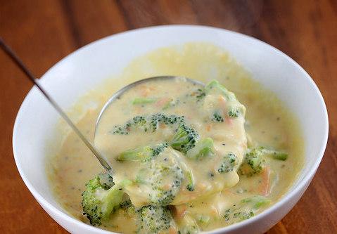Panera Bread Broccoli Cheese Soup