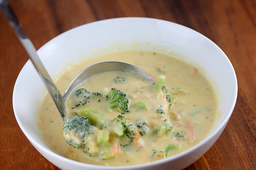 Panera Bread Broccoli Cheese Soup