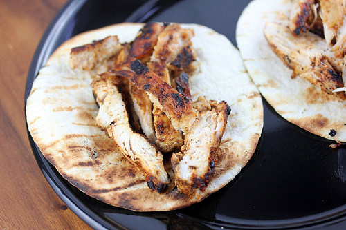 Grilled Chicken for Tacos
