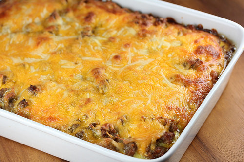 Sausage and Hash Brown Casserole
