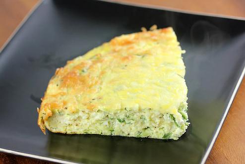 Zucchini and Feta Frittata