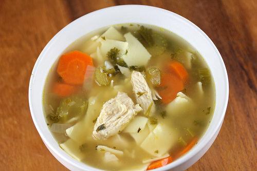 Dutch Oven Chicken Soup
