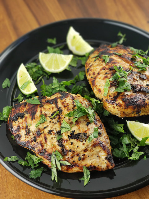 Chili Cilantro Lime Chicken