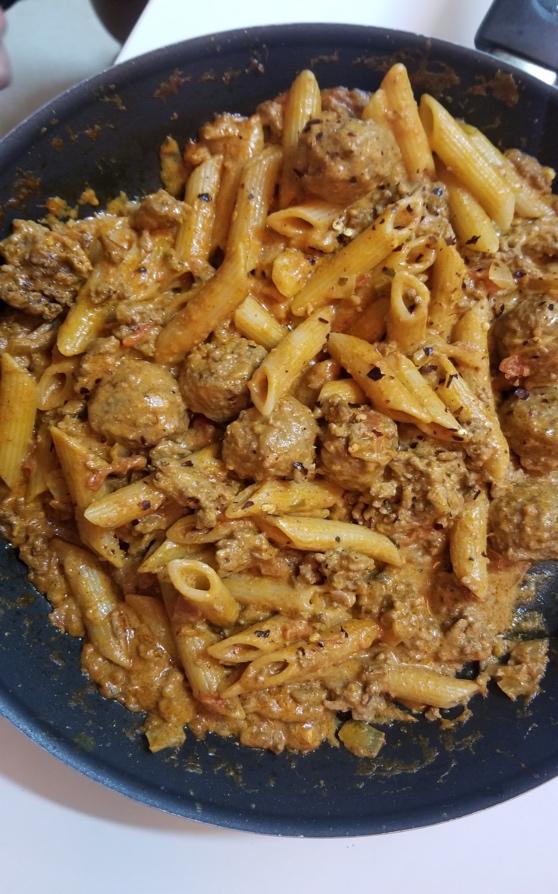 Pasta Meatballs Recipe