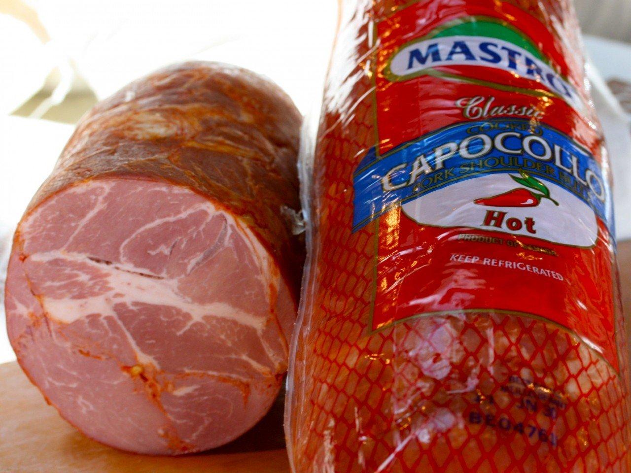 Capicola or Capocollo