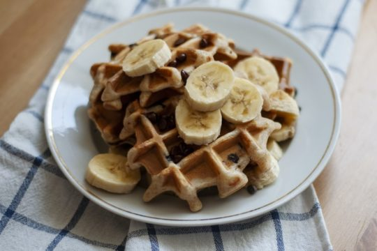 Egg Substitute for Waffles