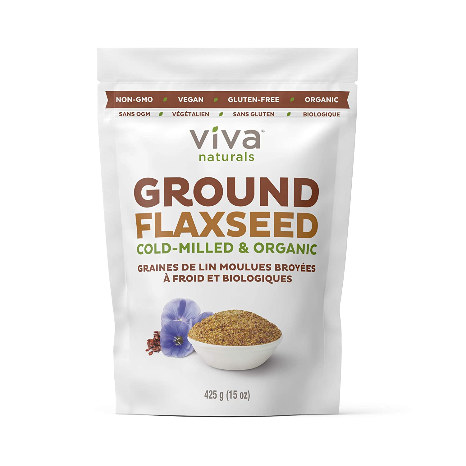 Ground Flaxseed and Water