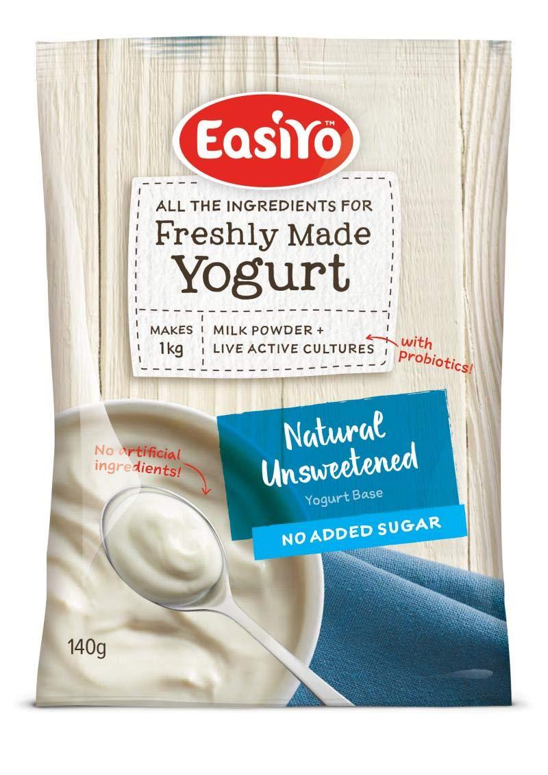 Plain Yoghurt and Water