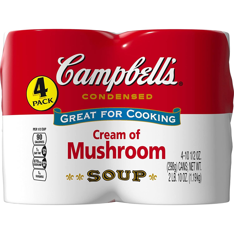 Sour Cream Mushroom Soup