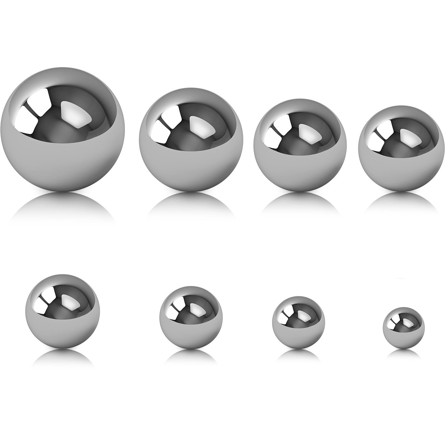 Steel Balls or Other Metal Objects