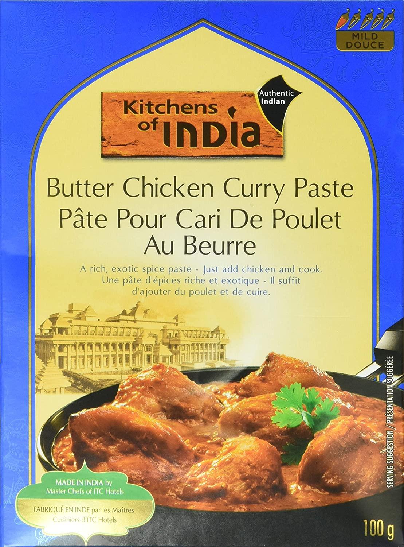 Substitute garlic powder for minced garlic in butter chicken