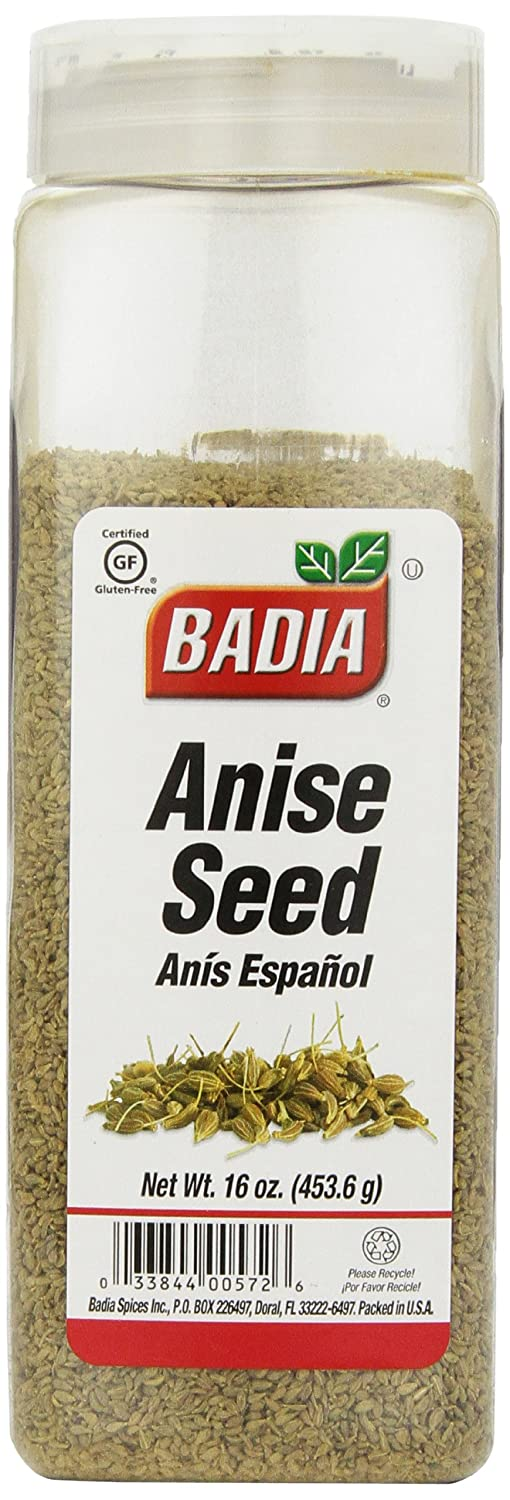 Badia Spices inc Spice, Anise Seed, Whole, 16-Ounce