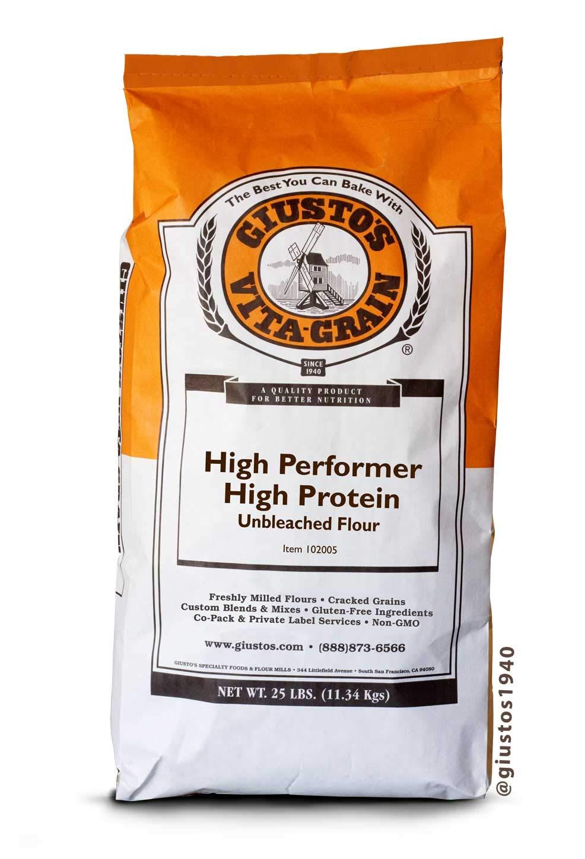 Giusto's Vita-Grain High Performer High Protein Unbleached Bread Flour