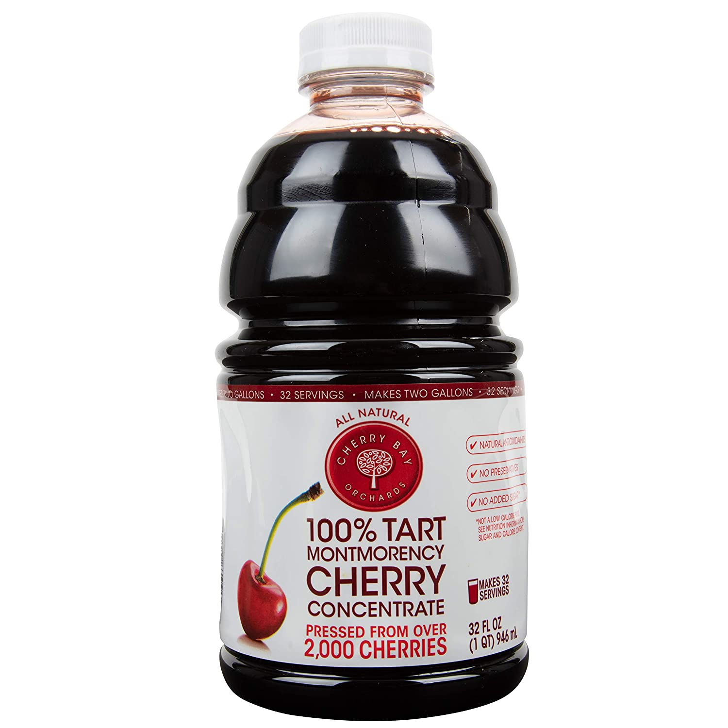 Cherry Bay Orchards Tart Cherry Concentrate - Natural Juice