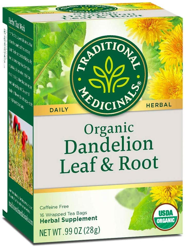 Traditional Medicinals Tea, Organic Dandelion Leaf and Root