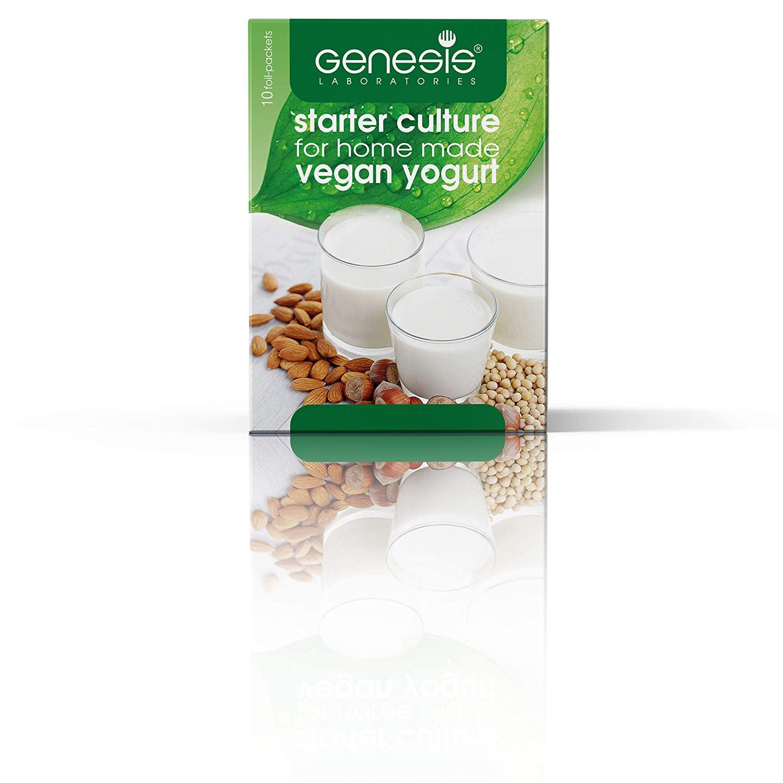 Genesis Vegan Starter Culture for Vegan Home Made Yogurt