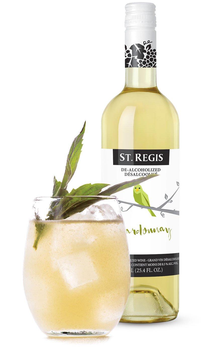 St Regis Chardonnay Non Alcoholic Wine