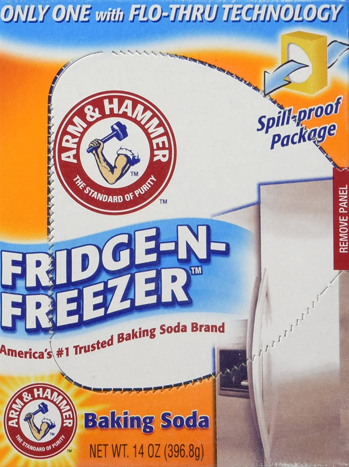 Arm & Hammer baking Soda, Fridge-N-Freezer Pack