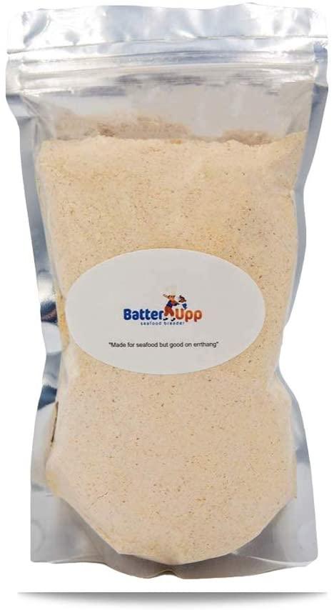 Batterupp, Restaurant Grade Seafood Breading & Seasoned